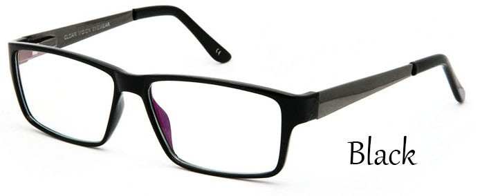 Black Square Eyeglasses (2)
