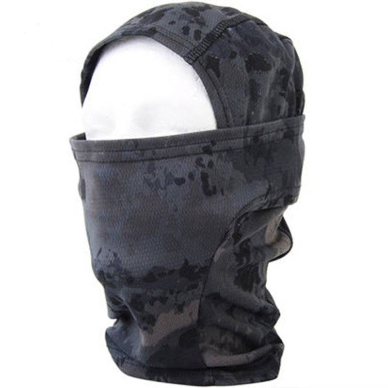 Army Tactical Training Hunting Airsoft Paintball Full Face Balaclava Mask Elegant In Style