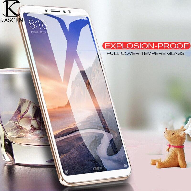 KASCEN para Xiaomi Mi Max 3 completa de la cubierta de vidrio templado Protector de pantalla para Xiaomi Max3 6,99 ''9 H a prueba de explosión de película protectora