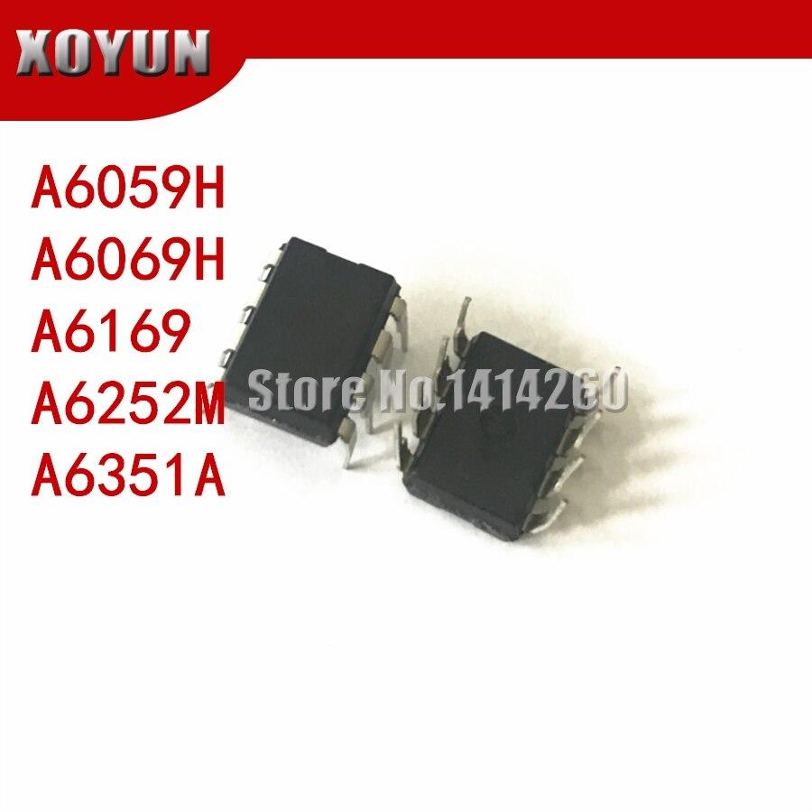 5pieces A6059H A6069H A6169 A6252M A6351A DIP-8 STR-A6059H  A6069 STR-A6169  A6252 STR-A6351A
