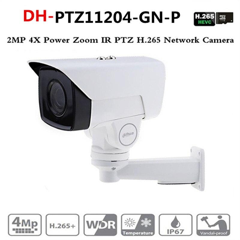 Ahua IP caméra PTZ PTZ11204-GN-P 2MP 4X moteur zoom 2.8mm-11.2mm H.265/H.264 infrarouge 60 m IP67 détection de visage PTZ11204-GN-P