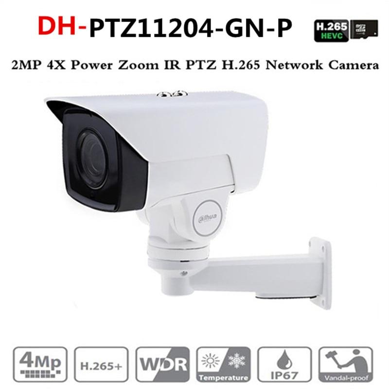 Ahua IP caméra PTZ PTZ11204-GN-P 2MP 4X moteur zoom 2.8mm-11.2mm H.265/H.264 infrarouge 60 m IP67 PTZ11204-GN-P de détection de visage