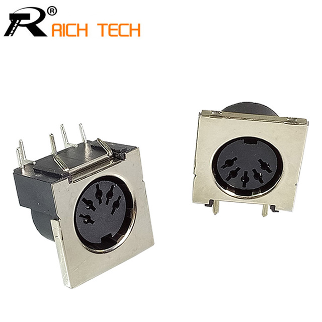 3pcs din connector 5 pin din female jack right angle panel mount 90 3pcs din connector 5 pin din female jack right angle panel mount 90 degree 5 pin publicscrutiny Image collections