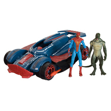 3PCS/set The Amazing Spider-man Spider Strike Vehicle Figures Spiderman PVC Action Figure Collectible Model Toy