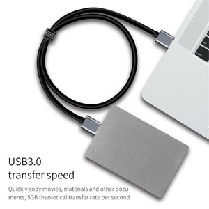 Image 3 - USB 3.0 Cable Fast Speed USB Type A Micro B Data Sync Cable Code for External Hard Drive Disk HDD Samsung S5 Note 3
