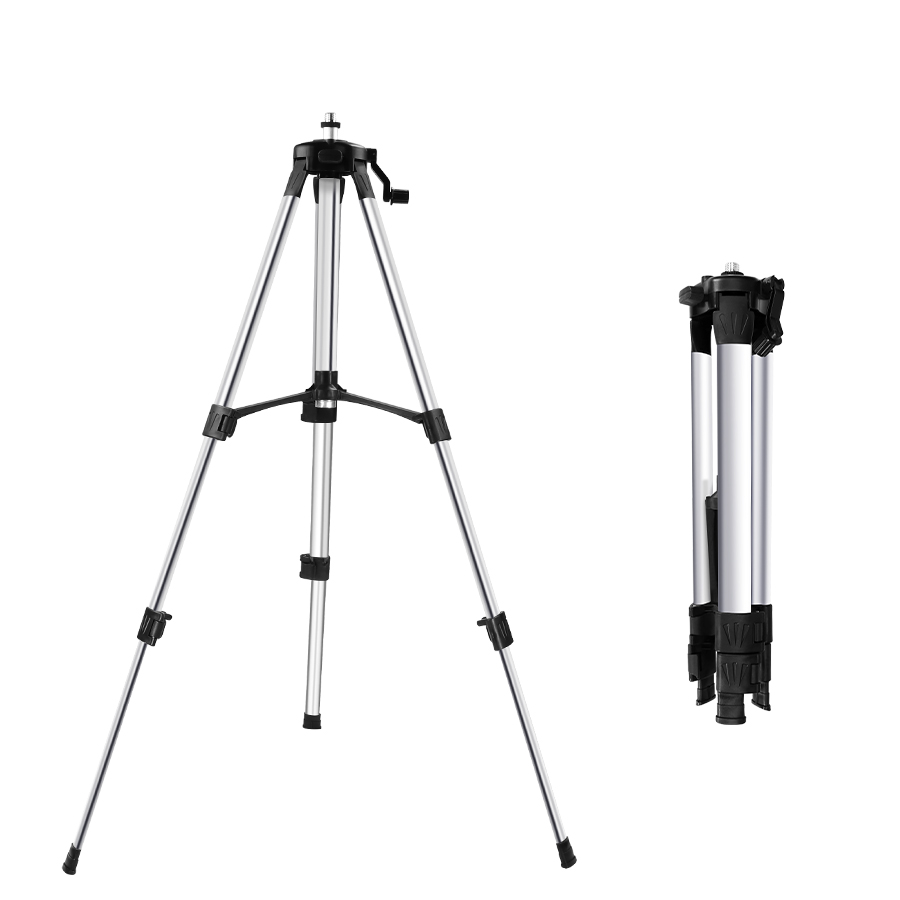 1.2M/1.5M Laser Level Tripod Adjustable Height Thicken Aluminum Tripod Stand For Self Leveling