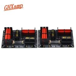 Ghxamp 380 w 3.4 khz 2 maneira alto-falantes crossover tweeter baixo divisor bidirecional agudos woofer divisor de freqüência padrão 12db/oct 2 pcs