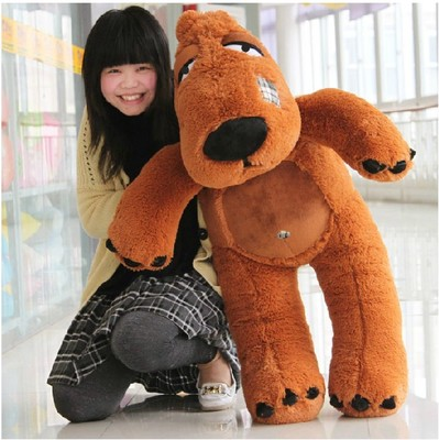 lovely bear doll large 100cm teddy bear soft plush toy , birthday gift x103 fancytrader hot item 39 100cm funny soft stuffed lovely plush purple jumbo sweater teddy bear toy free shipping ft50505