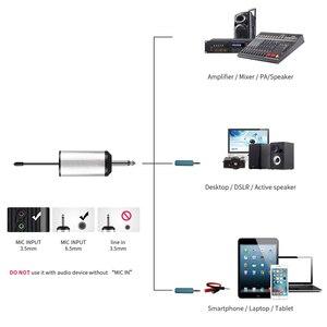 """Image 4 - Uhfワイヤレスシステムとヘッドセットマイク/ラベリアラペルマイクマイクシステム、デュアルレスボディパックトランスミッターと1ミニ充電式受信機1/4 """"出力"""