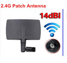 OSHINVOY 2.4G patch antenna SMA male high gain 14dBi 2.4G PCB antenna 2.4G wifi router antenna(China)