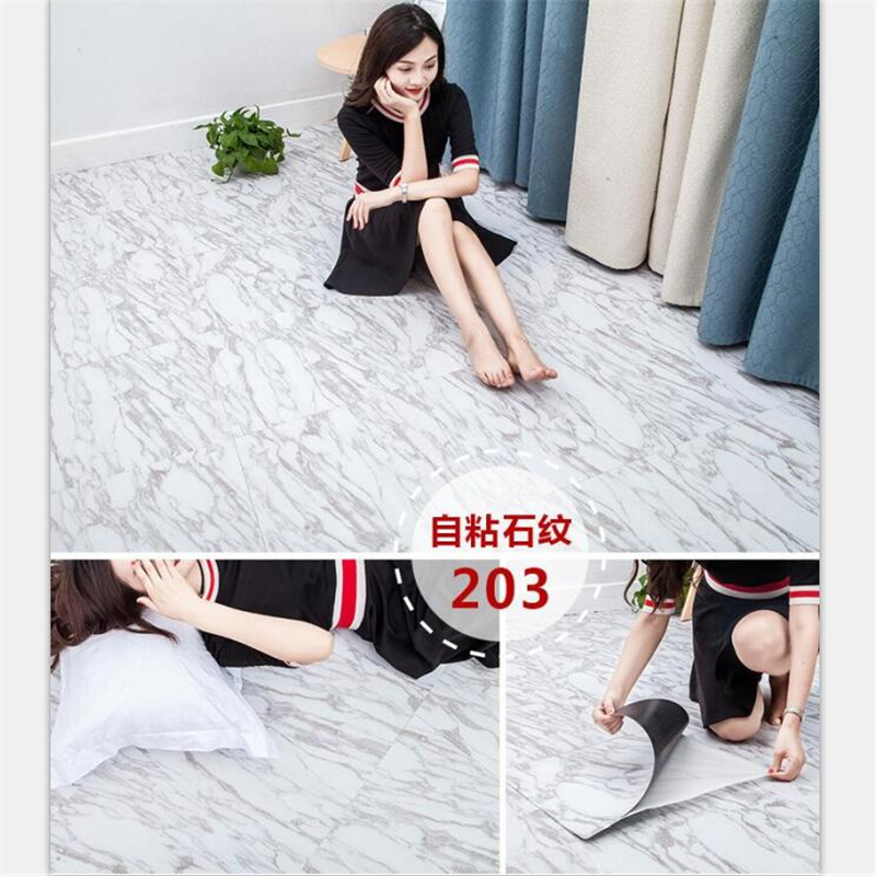 beibehang Self-adhesive pvc plastic sheet flooring thick wear-resistant waterproof stone pattern carpet floor plastic assembly beibehang pvc floor wallpaper leather self adhesive home thicker resistant waterproof shisu floor paper plastic floor plastic