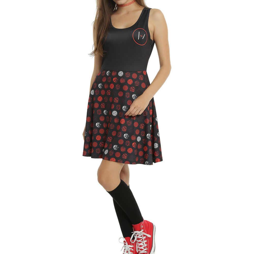 ใหม่ผู้หญิงเซ็กซี่ฤดูหนาว Nightmare Before Christma 3D พิมพ์แขนกุด SKATER Bodycon BANDAGE Dress PLUS ขนาด