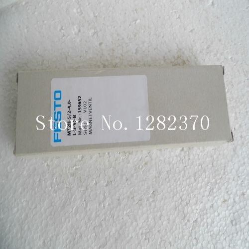 Новый оригинальный подлинный электромагнитный клапан festo MT2H 5/2 4,0 LS VI B запас 159 452