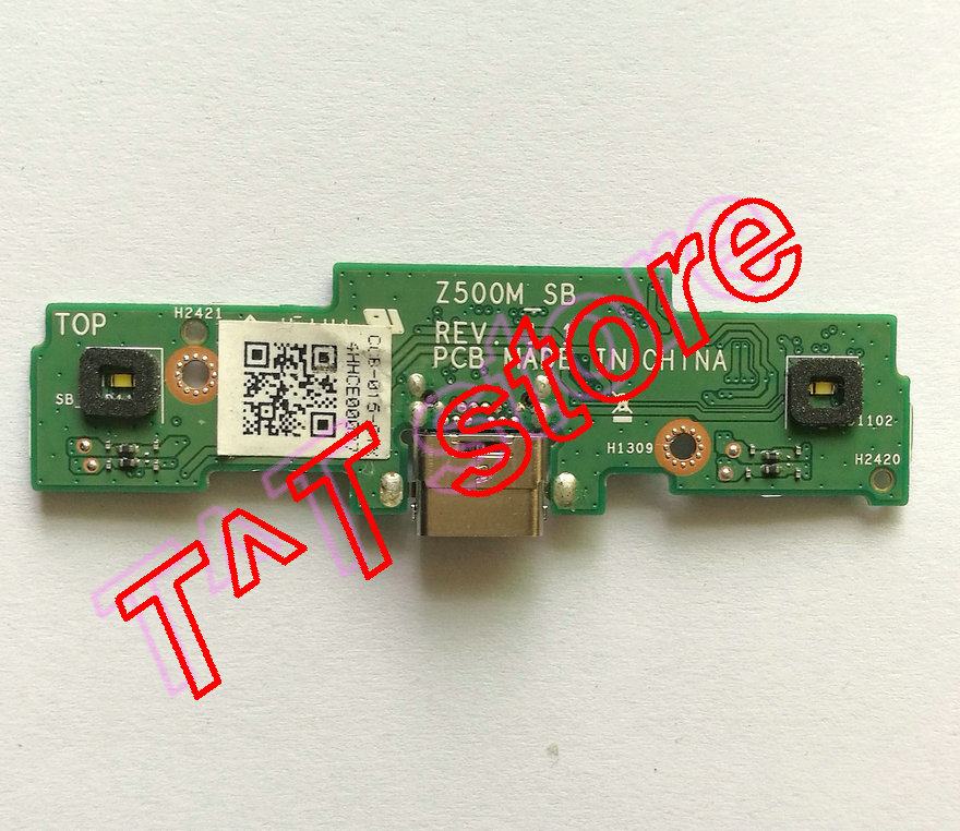 original for Z500M P027 USB charger board Z500M_SB test good free shipping original laptop t100chi usb charger board t100chi bt docking test good free shipping
