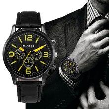 Relojes кварцевые мужские часы повседневные кожаные кварцевые наручные часы ремешок часы деревянные мужские наручные часы дропшиппинг Relogio Masculino