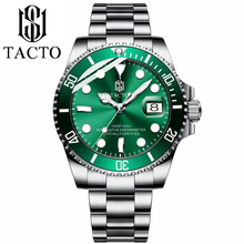 2019 Mens Watches Military Army Sport Role Rotatable Bezel Sapphire Glass Date Quartz Stainless Steel Watch Man Gifts