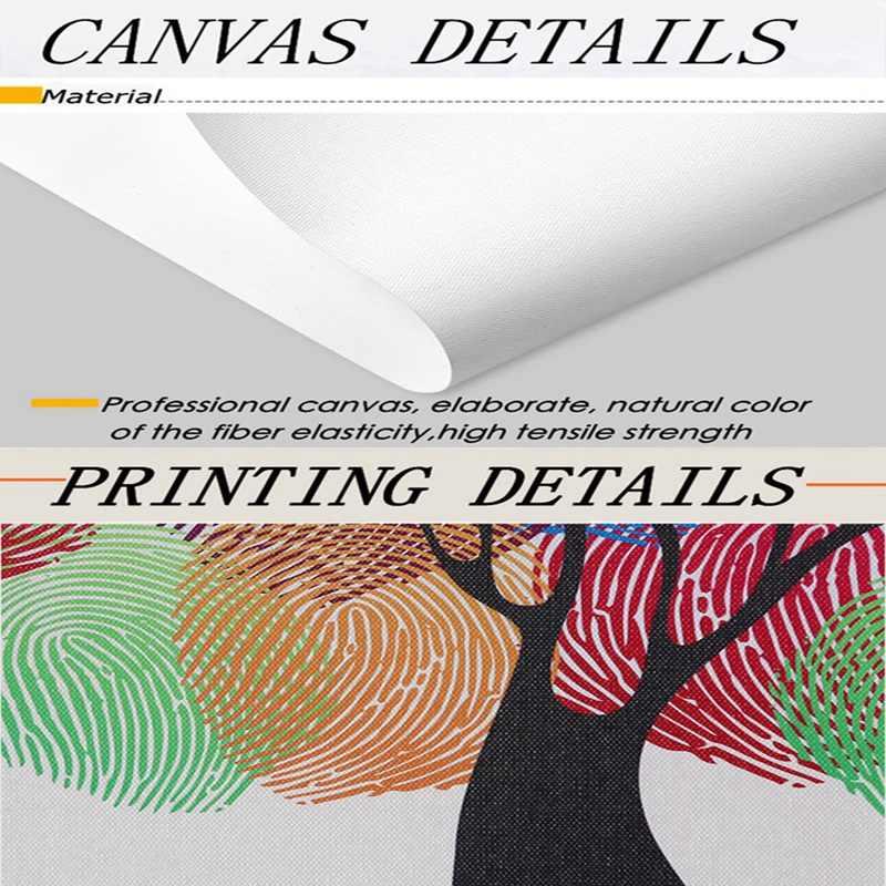 Простой скандинавский абстрактный узор Вишневый зонтик холст Художественная живопись печать плакат Картина Настенная Спальня украшение дома Фреска