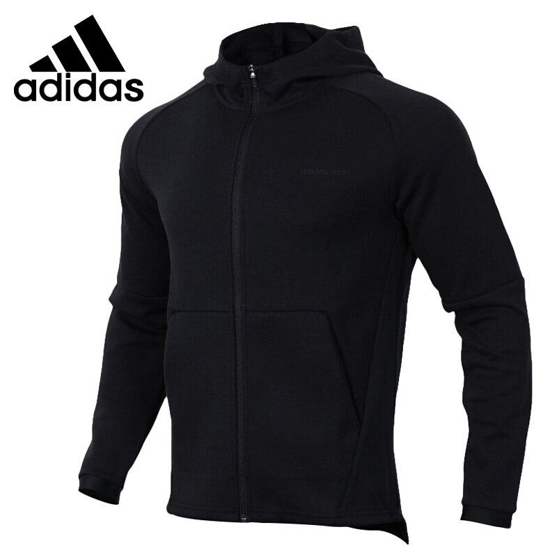 Original New Arrival 2018 Adidas Neo Label M CS ZIP HOODY Men's jacket Hooded Sportswear rib splicing design hooded zip up jacket