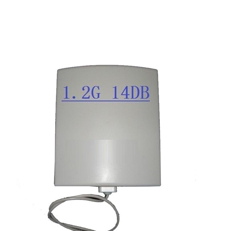 Véritable antenne de panneau 1.2G 1.3G pour CCTV 1100-1300 Mhz FPV émetteur 1.2G FPV émetteur-récepteur antenne sans fil
