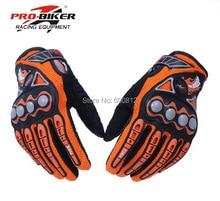 PRO-BIKER популярные марки гонки на мотоциклах перчатки мотоцикл езда полный палец перчатки рыцарь поставляет для мужчин и женщин