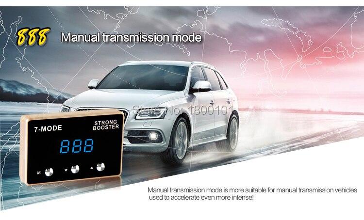 Gaspedalens accelerationssvar hastighetsreglering Gasreglage för - Reservdelar och bildelar - Foto 6