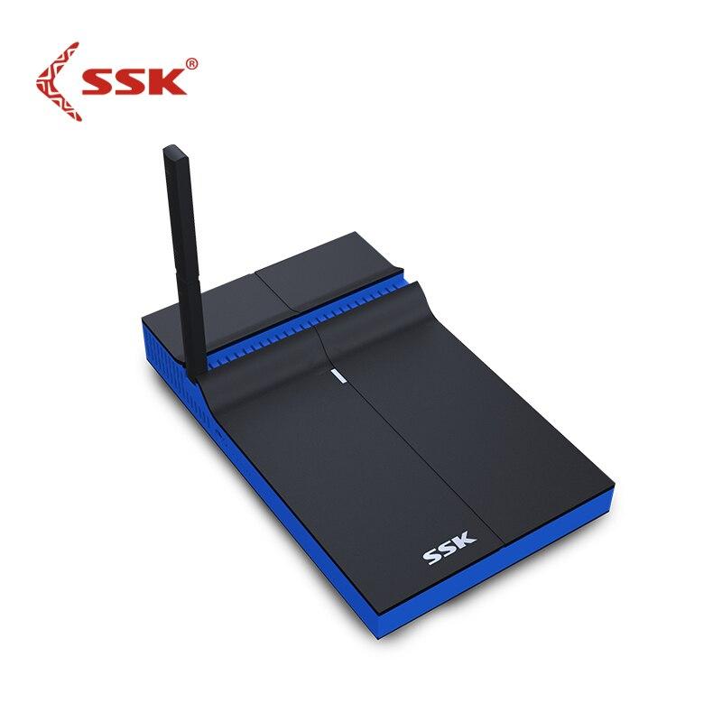 SSK SSP Z200 Wireless Cast Dual band 2 4GHz 5GHz WiFi Miracast Airplay DLNA TV Stick