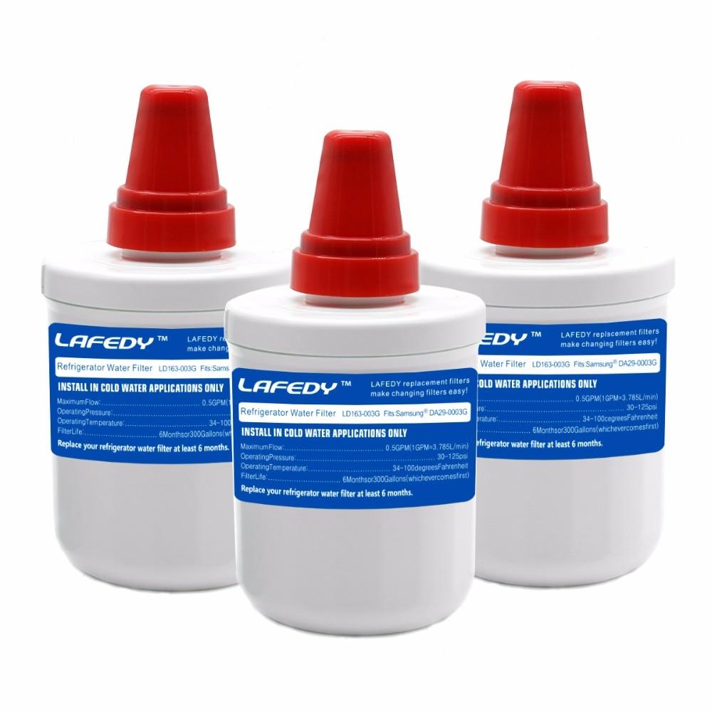 High-grade LAFEDY <font><b>Filter</b></font> Carbon Cartridge Replacement <font><b>Refrigerator</b></font> <font><b>Water</b></font> <font><b>Filter</b></font> for <font><b>Samsung</b></font> DA29-00003G Aqua-Pure Plus <font><b>3</b></font> pcs/lot