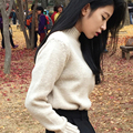 2017 new sweater women turtleneck pullover ladies sweaters shirt hot sale wool knitted sweater female warm tops sal