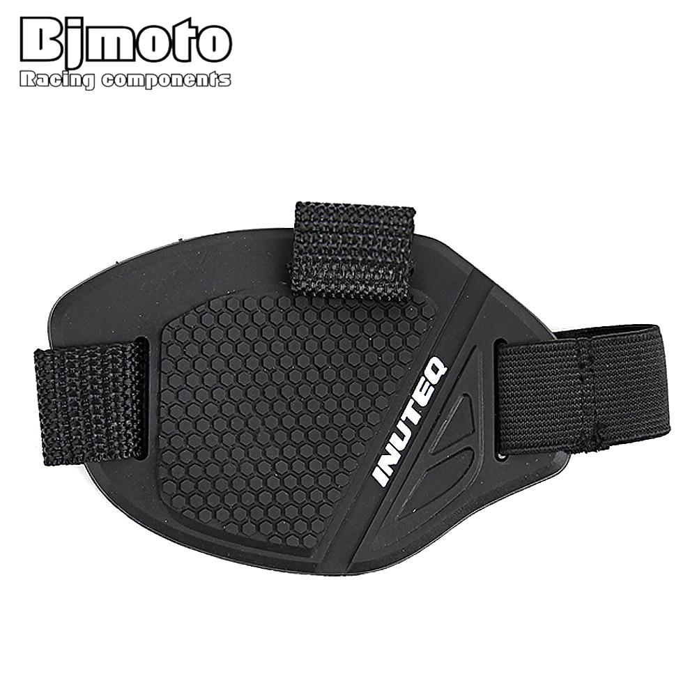 BJMOTO Moto Shifter Shoe Boots Protector Motorcycle Gear Shoes Protective Cover Shoes Protection Rubber Skidproof Shift Sock Pad
