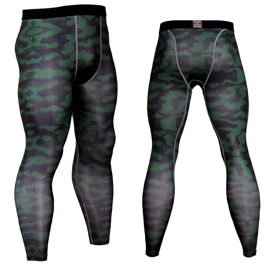 Compression pants men tight sweatpants thin and breathable joggers