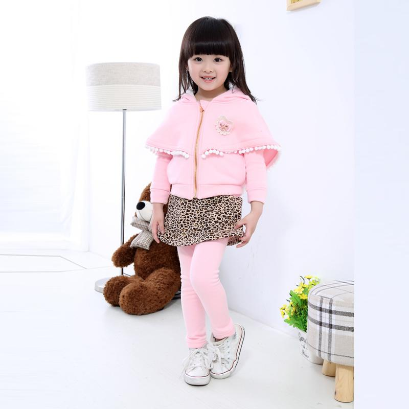 Children Set Warm Winter Clothes Overalls Costumes For Girl Winter Sport Suit For Girl Baby Clothes Children's Clothing Girls 2017 winter warm overalls for newborns baby girl children s clothing set outerwear child girls suit jackets pant high quality