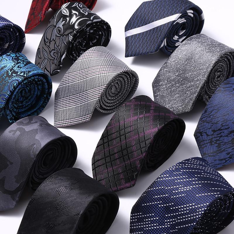 6cm Mens Ties New Man Fashion Dot Neckties Corbatas Gravata Jacquard Slim Tie Business Green Tie For Men