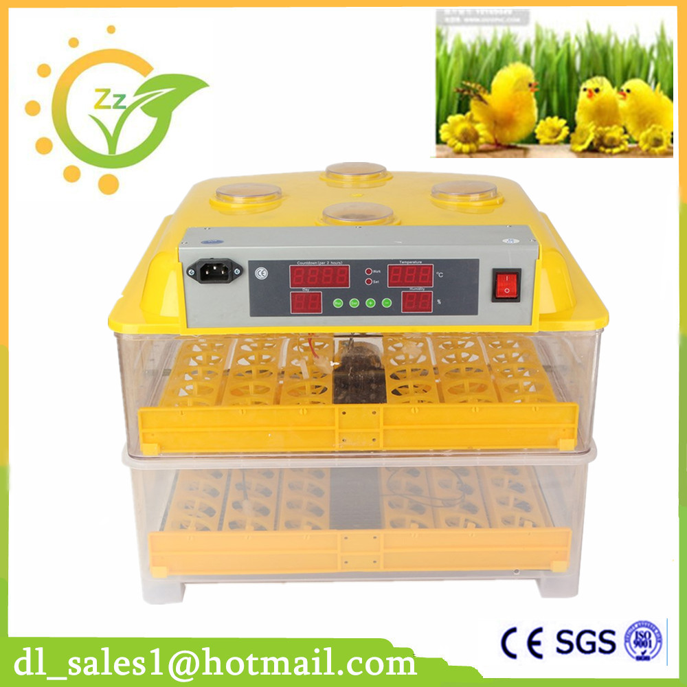 Newest Model Full Automatic Chicken 96 Eggs Incubator Mini Incubator Poultry Egg Hatching Machine 2014 spring and summer new elegant gold buckle leather shoes women shoes carrefour