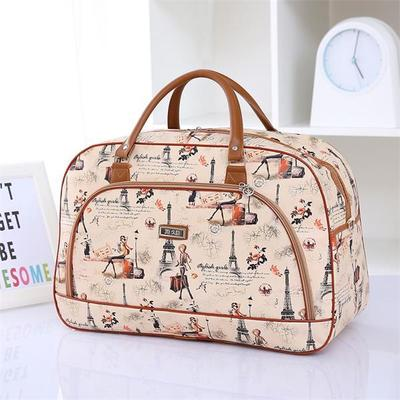 Women For Men Travel Bags PU Leather Sports Waterproof Luggage Bags Male And Female Students Handbags Duffel Bag