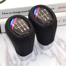 5 6 Speed PU Leather Gear Shift Knob With M  For BMW 1 3 5 6 Series E36 E38 E39 E46 E53 E60 E61 E63 build in motion 2 in 1 remote and nunchunk controller joystick set with package for wii for nintendo