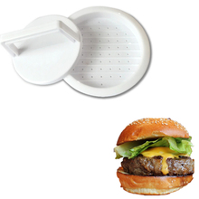 2Pcs/Set Burger Press Round Hamburger Food Grade Plastic Beef Grill Patty Meat Tenderizer Make Mold Kitchen Tool