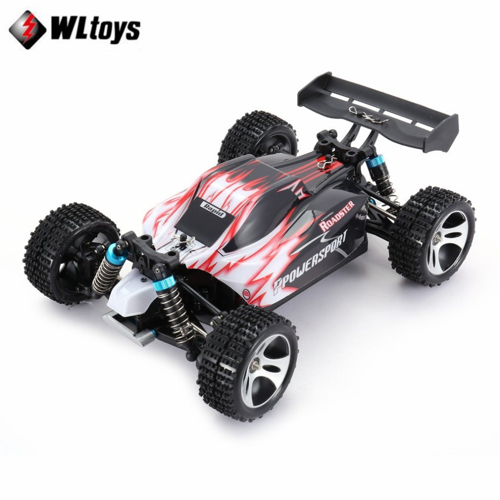 Wltoys A959 RC Off-road Car 1:18 Scale 2.4G 4WD RTR Off-Road Buggy High Speed Racing Car Remote Control Truck Electric RTR fi hongnor ofna x3e rtr 1 8 scale rc dune buggy cars electric off road w tenshock motor free shipping
