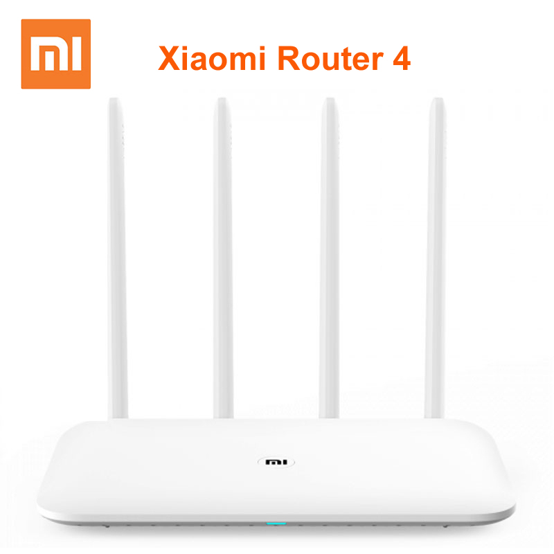 Original Xiaomi Mi Router 4 Wireless 2.4 / 5GHz Dual Band WiFi 1167Mbps 4 Antennas Network Dual Core MiNet One Key Connection