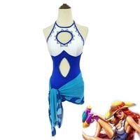 Game LOL Miss Fortune Cosplay Costume Miss Fortune Swimming Pool Party One piece Swimsuit Bikini+Scarf Halloween Swimwear
