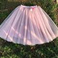 2017 New Fashion 7 Layers Maxi Long Tutu Tulle Skirts Womens Skirt American Apparel Vintage Lolita Petticoat Falda Mujer Saias