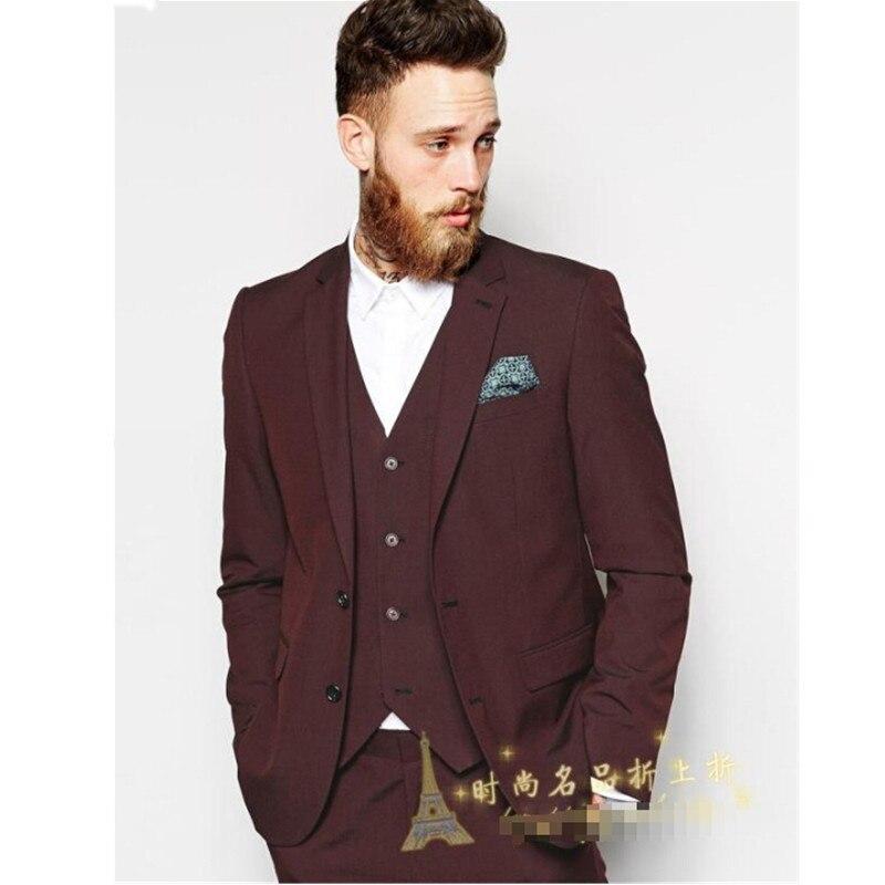 66fdcfd68da7a Новинка, мужские костюмы британский джентльмен, стильный костюм, пальто,  свадебная одежда, бизнес
