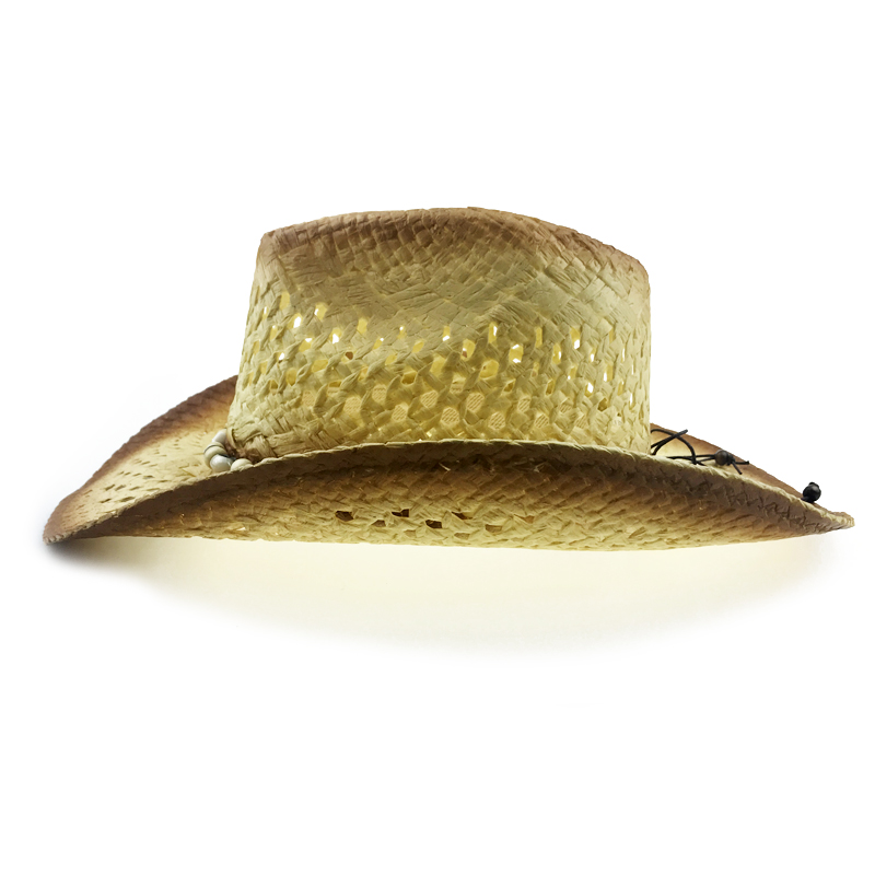 e325318a Shell Straw Hat Men Summer Western Cowboy Hat With Wide Brim Women Hollow Straw  Beach Cap Heren Hoeden New Jazz Hat YY18100-in Cowboy Hats from Apparel ...