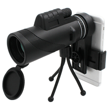 Ecusells 40X Zoom Lens for Smartphone Telescope Lente Para Celular Monocular Telescopio Mobile Phone Camera Lens Smart Phones цена
