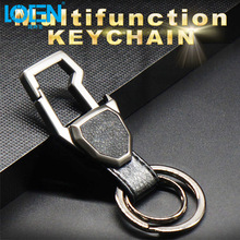 LOEN Key Rings for Car keychains keyrings Interior Accessories Car Styling trinket for Man Audi BMW Men VW Honda keychain(China)
