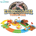 New design Dinosaur Removable Electric Train set Track Kids Children Baby Toys Christmas Gift