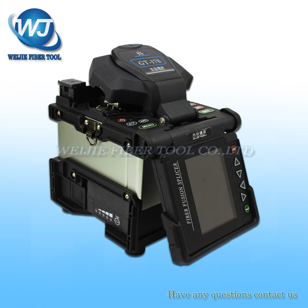 free shipping FTTH GT-17S multilanguage Automatic Intelligent Fusion Splicing Optical Fiber Fusion Splicer machinefree shipping FTTH GT-17S multilanguage Automatic Intelligent Fusion Splicing Optical Fiber Fusion Splicer machine