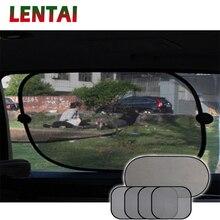 LENTAI Car window sun shade Cover Auto Sun protection Net For VW Golf 4 7 5 7367a6a7be2d