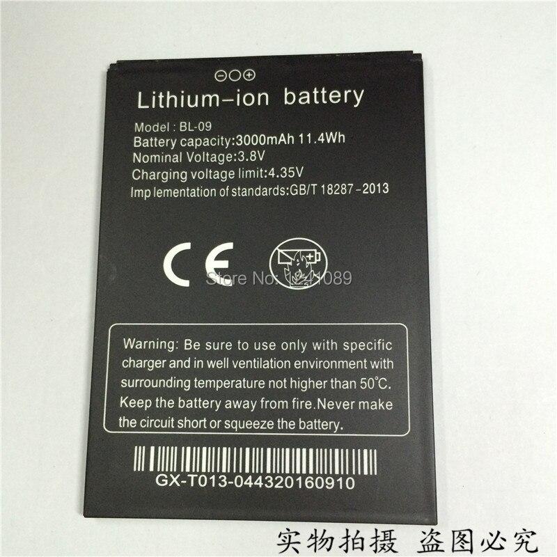 100% original battery THL BL-09 battery <font><b>3000mAh</b></font> T9 T9 Pro Original quality Mobile <font><b>phone</b></font> battery Long standby time