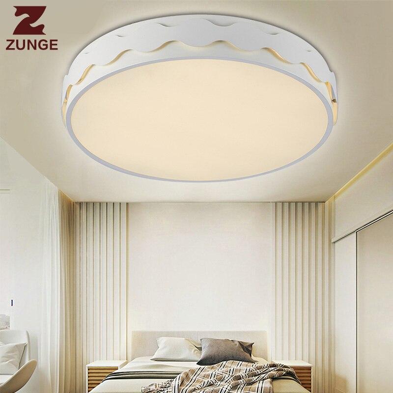 ZUNGE LED ceiling light living room lamp simple modern atmosphere P653 restaurant bedroom lamp цена