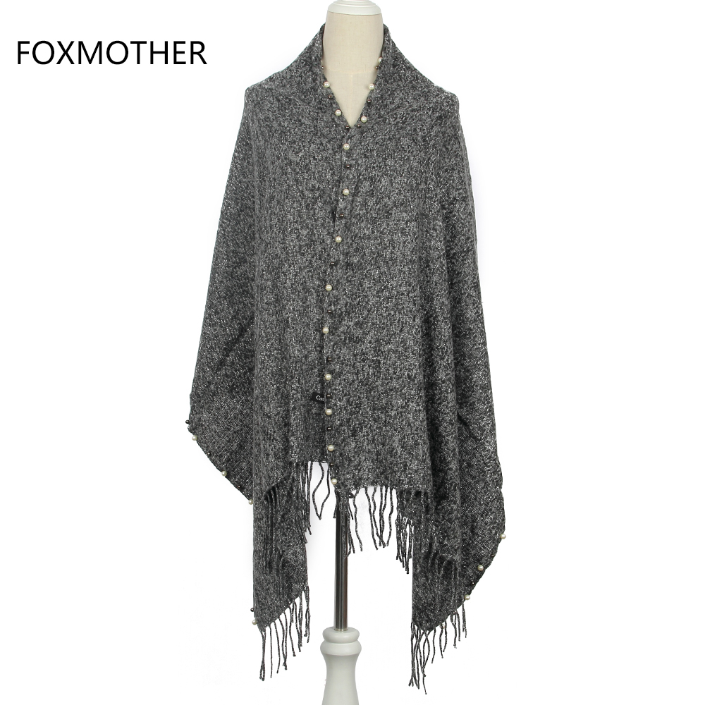 Tips On Blending Great Colors With Beige: FOXMOTHER 2017 New Fashion Winter Dark Grey Beige Navy